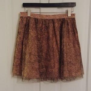 Jack Tulle Miniskirt EUC